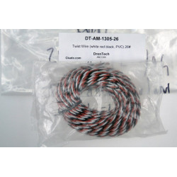 Twist Wire (white red black, PVC) 26