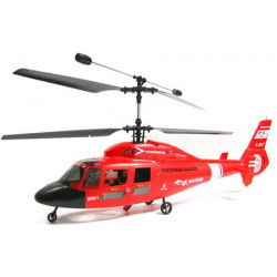 RTF Dauphin Helicopter Red (2.4Ghz Mode 1)