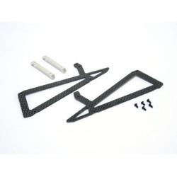 Xtreme carbon Fiber Landing Skid - B200SRX
