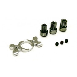 Motor Mount and Pinion Gears Set (9, 10, 11T) -B180CFX