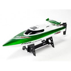 High Speed V-Hull Racing Boat 460mm - Green - RTR - (FT009)