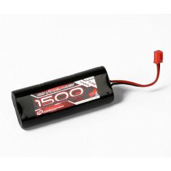 NiMH 7,2V, 1500mAh, 2/3 A, 1/18 Stick Pack (MP1500)