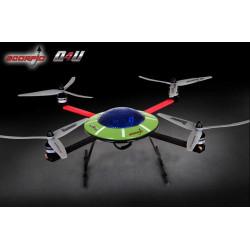 Scorpio Q4U Quadricopter with DEVENTION 7 (2.4 Ghz Mode 2)