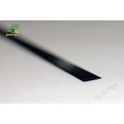 Profilé carbone plat 5.0/0.6mm - 1m (212009)