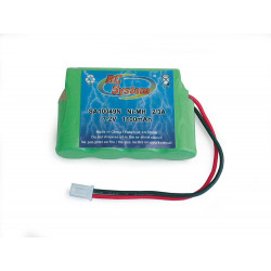 ACCUS NI-MH 7.2V 1100 MAH (4+2 A PLAT) POUR VOITURES 1/16 1/18