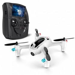 DRONE HUBSAN X4+ FPV avec Radio Ecran couleur 2.4ghz + Maintien d'Altitude (H107D+)