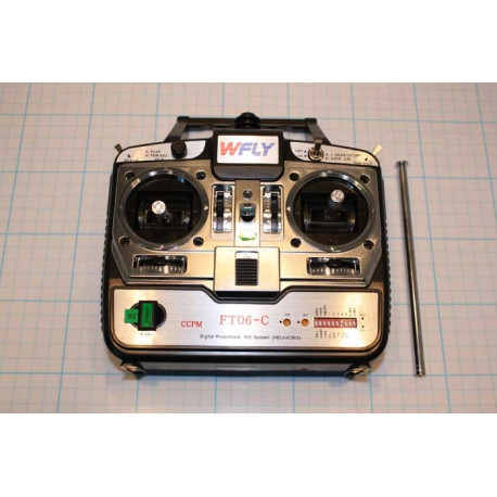 Transmitter WFly FT06-C 40Mhz Mode 1