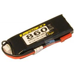 LIPO 7.4V 860MAH 2S 25C SPORT (SAF08103)