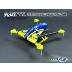 MR200 Micro Quad Copter Chassis Kit (Yellow Canopy)
