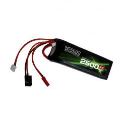 VCanz Power 2500mAh 3C 11.1V (VPTX2500/3-3S)