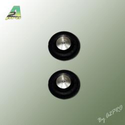 Roues Airtrap Moyeu alu 25mm (4468)