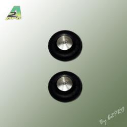 Roues Airtrap Moyeu alu 30mm (4469)