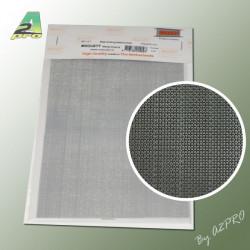 Grille acier galvanise 200x140x0.44mm maille de 0.4mm (280101)