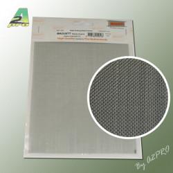 Grille acier galvanise 200x140x0.50mm maille de 0.6mm (280102)