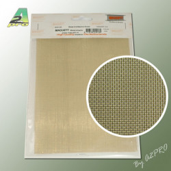Grille laiton 200x140x0.6mm maille de 0.76mm (283005)