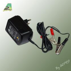 Chargeur batterie au plomb 2-6-12V-600mA (7612)