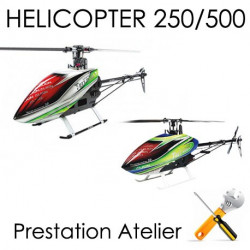 Class 250-450 Assemblage, Réglages et Test Hélicoptère