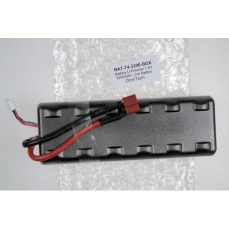 Battery Li-Polymer 7.4V 3200mAh - Car Battery