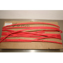 4mm Gaine thermoretratable Heat Shrink Tube Red 1m