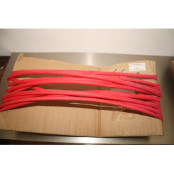 6mm Heat Shrink Tube Red 1m