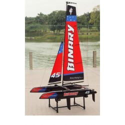 Mini Catamaran rouge RTS