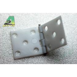 Charniere assemblee 34x16mm (100 pcs)