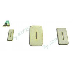 Charniere flex en fibre - 15x8mm (10 pcs)