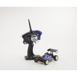 MINI-Z MB010S 4WD 1/24 INFERNO MP9 TKI3 BLEU/NOIR - READYSET (K.32081BB)