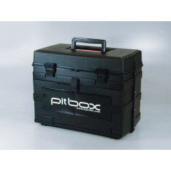 PITBOX KYOSHO (BOITE DE TERRAIN - NOIRE) (K.80461)