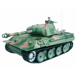 CHAR D'ASSAUT RC 1/16 GERMAN PANTHER COMPLET (BRUIT / FUMEE) (3819-1)
