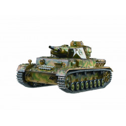 CHAR RC 2.4GHZ 1/16 PANTHER IV AUSF.F1 (BRUIT/FUMEE) (TG3858-A)