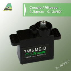 Micro Servo Numerique 7455 MG-D (77455)