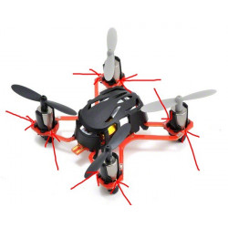 Hubsan Q4 Nano Quadcopter with Mini 2.4Ghz Radio Noir (H111)