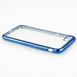 "BACK CASE ""GLOSSY"" iPhone 7 blue"