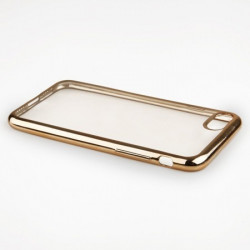 "BACK CASE ""GLOSSY"" iPhone 7 gold"