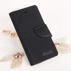"CASE ""FANCY"" CANVAS iPhone 7 black"