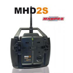 Radio MHD2S 2 voies 2.4Ghz AFHDS + recepteur 3 voies 2.4GHz (Z01002)