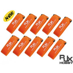 RJX Battrey Strap300X20mm 10pcs Orange