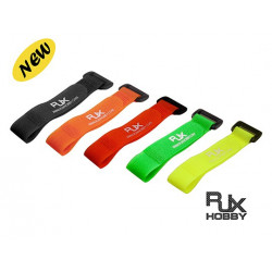 RJX Multi Color Battery Strap 200x20mmx5pcs for FPV Racing