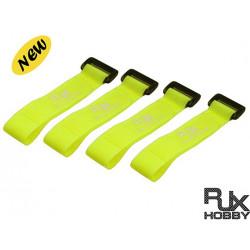 RJX Battrey Strap 200X20mmx4pcs Yellow for FPV Racing