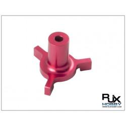 RJX Swashplate Leveler/ Niveau Plateau cyclique (3.5mm) Red (T6012R)
