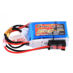 Gens ace 520mAh 30C 11.1 v lipo model aircraft batteries (B-30C-520-3S1P)