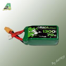 Race Lithium 1300mAh 70C 4S - XT-60 - 150grs (9130743)