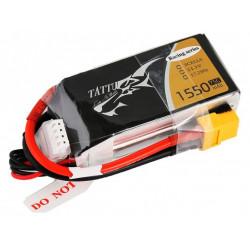 TATTU 1550mAh 11.1V 75C 3S1P Lipo Battery Pack-Victory Limited Edition (TA-75C-1550-3S1P-R)