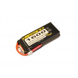 Batterie LiPo Xell Sport 3S 11.1V - 1600mAh 30C (SAF08112)