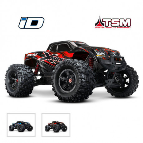 X-MAXX 4X4 - 8S - BRUSHLESS - WIRELESS - ID – TSM (TRX77086-4)