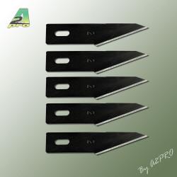 Lame droite pour couteau scalpel 11 (5 pcs) (95060)