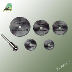 Disque acier de decoupe pour Dremel (6 pcs) (99010)