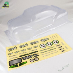 Carrosserie transparente Wheel'it avec auto-collants (C10301)
