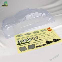 Carrosserie transparente Monst'it avec auto-collants (C10302)